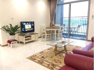Cho thuê căn hộ chung cư Vinhomes Central Park 1 phòng ngủ (1pn), tòa Central 1 full nội thất cao cấp