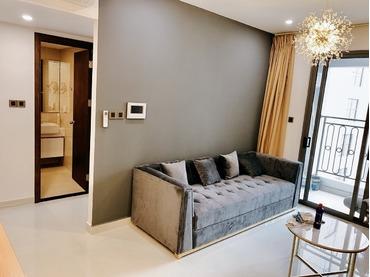 Cho thuê căn hộ Saigon Royal 2 phòng ngủ (2pn), kí trực tiếp chủ nhà, nhìn là mê vì rất đẹp