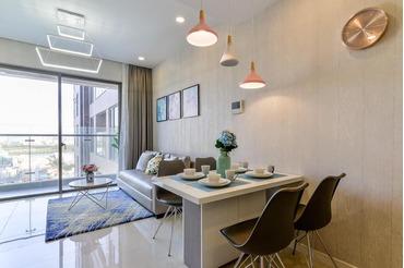Ko có nhu cầu ở, cần cho thuê căn hộ Millennium Masteri 2 phòng ngủ (2pn), cạnh cầu Ông Lãnh, view rất đẹp