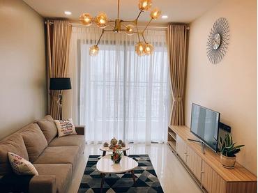 (Hot) - Cho thuê căn hộ 2 phòng ngủ (2pn) Saigon Royal 34 Bến Vân Đồn, Quận 4, Tp HCM rất đẹp