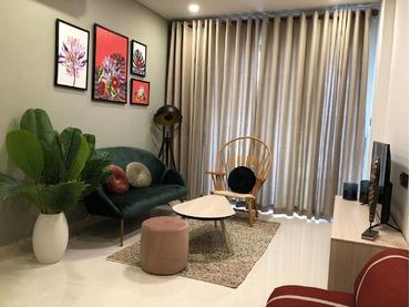 Cho thuê căn hộ 2 phòng ngủ Saigon Royal số 1 Nguyễn Trường Tộ, Quận 4, Tp Hồ Chí Minh