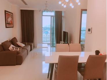 Cho thuê căn hộ Vinhomes Central Park, 1 phòng ngủ, tòa Landmark Plus tầng trung đẹp, view thoáng.