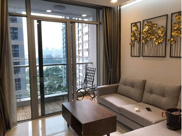 Gia đình nhà tôi cần cho thuê căn hộ Vinhomes Central Park 2 phòng ngủ (2pn), tòa Park 6 giá rẻ