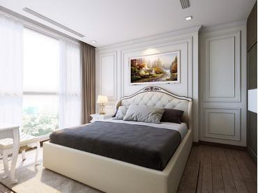 Cho thuê căn hộ Vinhomes Central Park 2 phòng ngủ tòa Park 2 full đồ nội thất sang trọng, đẹp