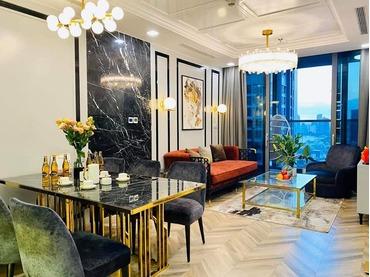 Đang cần gấp, cho thuê căn hộ Vinhomes Central Park 2 phòng ngủ, tòa Landmark 81 full nội thất rất đẹp