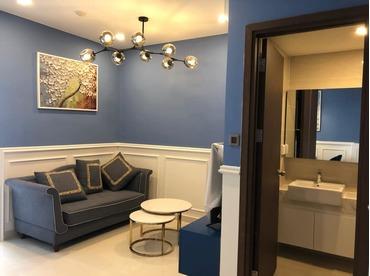 Cho thuê căn hộ saigon Royal Quận 4, của CĐT NovaLand loại 1 phòng ngủ, có ngăn phòng rất tiện dụng và đẹp