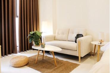 Cho thuê căn hộ Saigon Royal Quận 4, loại 1 phòng ngủ (1pn), view thành phố, bao BQL