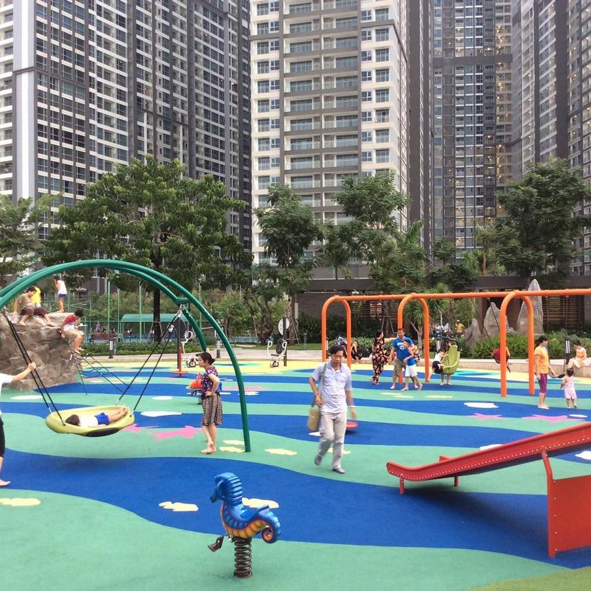Khu vui chơi trẻ em tại Vinhomes Central Park