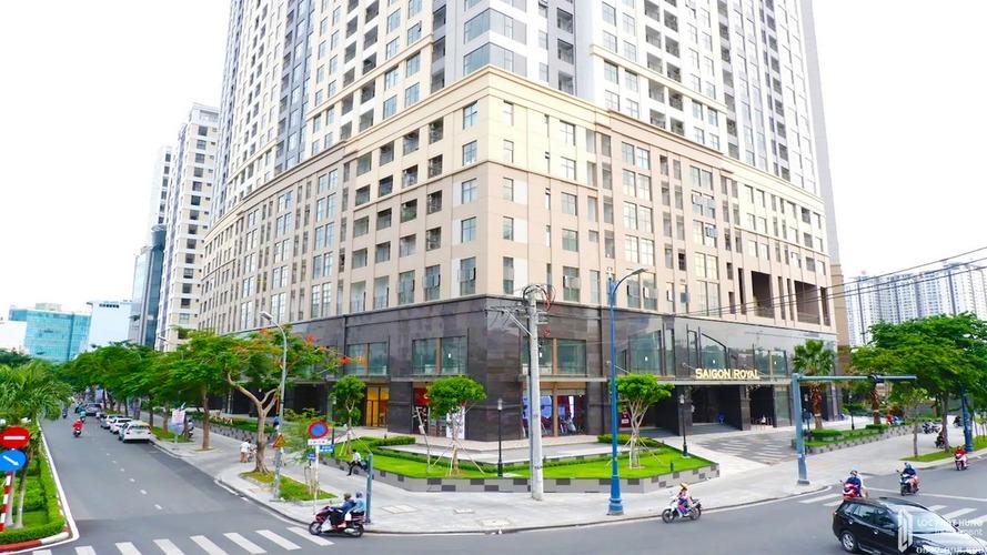 Sảnh tòa nhà chung cư Saigon ROyal Residence Quận 4