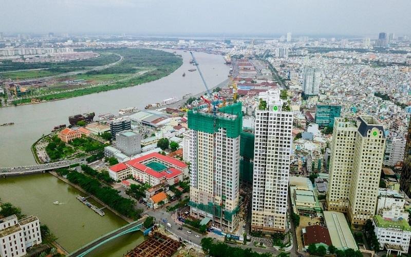 Hình ảnh tòa nhà Saigon Royal Residence tại Bến Vân Đồn, Quận 4