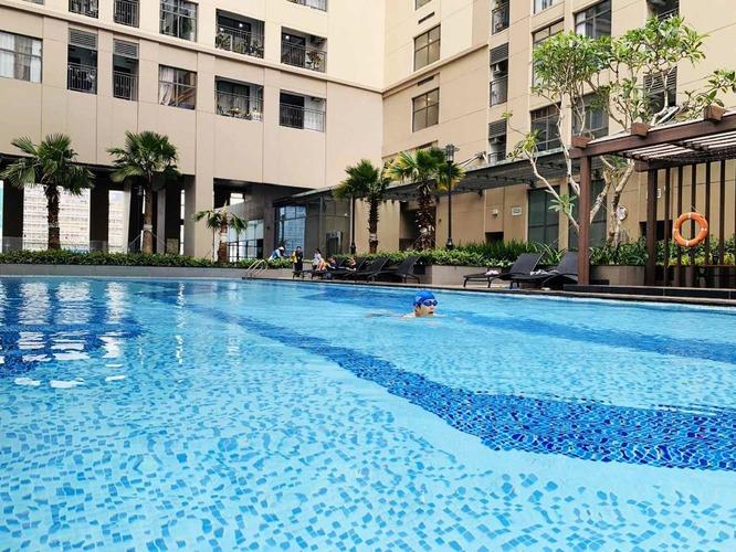 Bể bơi tại tầng 3 tòa nhà Saigon Royal Residence Quận 4