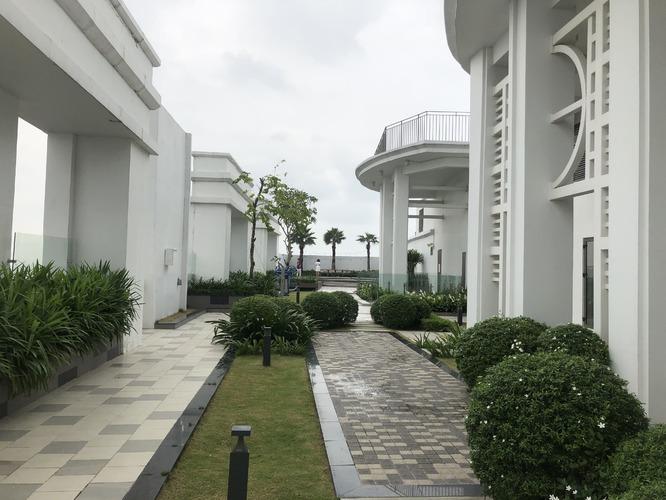 Tầng thượng mái tòa nhà Saigon Royal Quận 4
