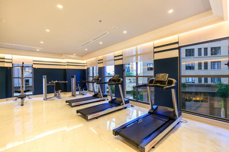 Phòng tậm Gym tại tòa nhà Saigon Royal Residence Quận 4
