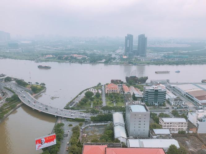View bến nhà rồng tòa nhà Saigon Royal Quận 4