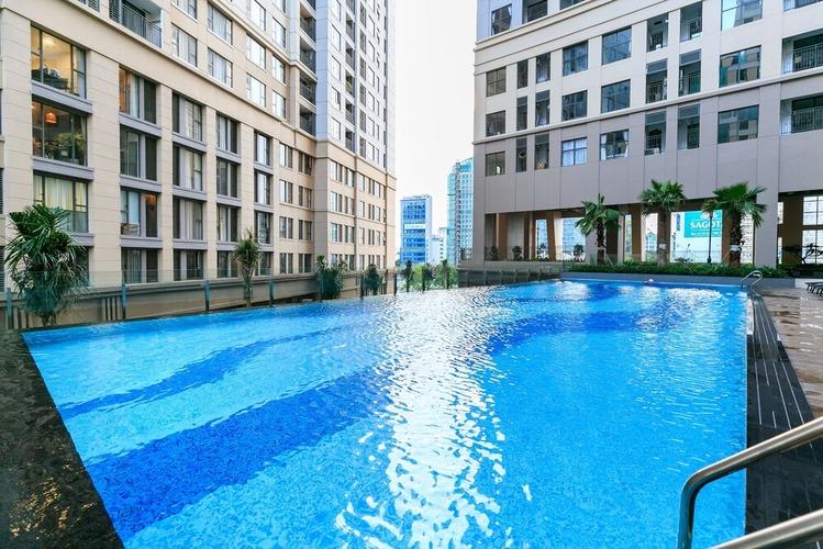 Bể bơi ngoài trời tầng 3 Saigon Royal Residence