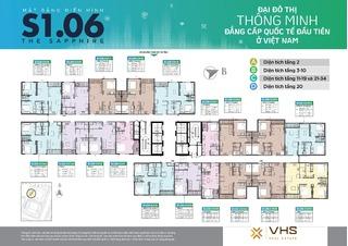 Mặt bằng Vinhomes Smart City tòa MB S1.06 (H06)